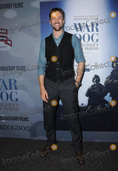 "Reid Carolin Photo - 06 November  2017 - Los Angeles, California - Reid Carolin. ""War Dog: A Soldier's Best Friend"" Los Angeles premiere held at Director's Guild of America in Los Angeles. Photo Credit: Birdie Thompson/AdMedia"