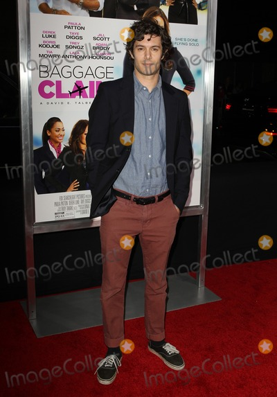 "Adam Brody Photo - 25 September 2013 - Los Angeles, California - Adam Brody. Premiere Of Fox Searchlight Pictures' ""Baggage Claim"" Held at Regal Cinemas L.A. Live. Photo Credit: Kevan Brooks/AdMedia"