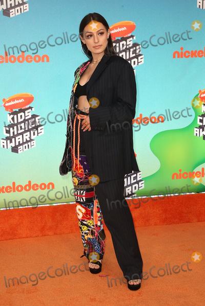 Brianna Mazzola Photo - 23 March 2019 - Los Angeles, California - Brianna Mazzola. 2019 Nickelodeon Kids' Choice Awards held at The USC Galen Center. Photo Credit: Faye Sadou/AdMedia