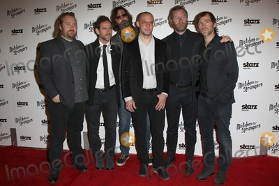 "Aaron Dessner, Bryce Dessner, Matt Berninger, Scott Devendorf, Bryan Devendorf Photo - 25 March 2014 - Los Angeles, California - Bryce Dessner, Bryan Devendorf, Scott Devendorf, Matt Berninger, Aaron Dessner. Los Angeles Screening Of ""Mistaken For Strangers"" Los Angeles Gala Dinner Held at The Shrine Auditorium. Photo Credit: F.Sadou/AdMedia"