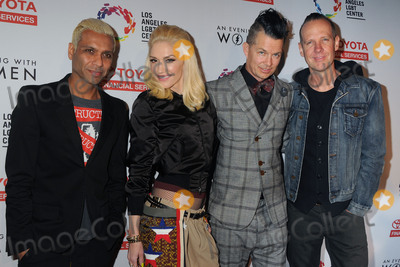 Adrian Young, Gwen Stefani, No Doubt, Tom Dumont, Tony Kanal, Adrian Younge Photo - 16 May 2015 - Hollywood, California - Tony Kanal, Gwen Stefani, Adrian Young, Tom Dumont, No Doubt. An Evening With Women 2015 Benefit for the LGBT Center of Los Angeles held at the Hollywood Palladium. Photo Credit: Byron Purvis/AdMedia