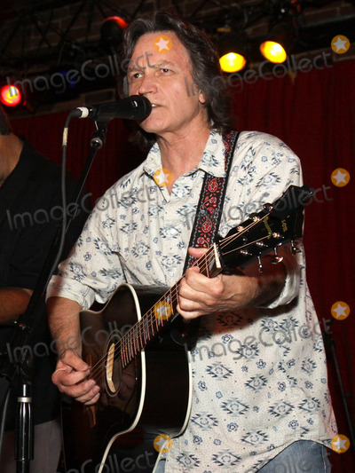 """Jeff Hanna, Nitty Gritty Dirt Band, The Nitty Gritty Dirt Band, Pete Huttlinger Photo - July 26, 2011 - Nashville, TN - Jeff Hanna of the Nitty Gritty Dirt Band sang crowd-favorite """"Mr. Bojangles."""" Artists, musicians and songwriters came together at Mercy Lounge to help raise funds for Pete Huttlinger, a widely respected guitarist and Nashville studio artist.  Huttlinger has a congenital heart disease and is in need of a heart transplant. Photo credit: Dan Harr/Admedia"""