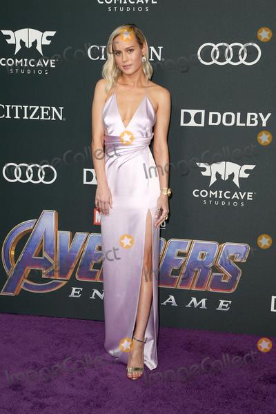 "Brie Larson Photo - 22 April 2019 - Los Angeles, California - Brie Larson. Marvel Studios' ""Avengers: Endgame"" Los Angeles Premiere held at Los Angeles Convention Center. Photo Credit: F. Sadou/AdMedia"