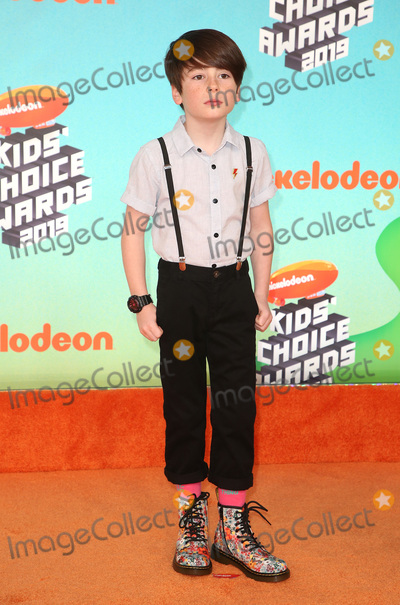 Paxton Booth Photo - 23 March 2019 - Los Angeles, California - Paxton Booth. 2019 Nickelodeon Kids' Choice Awards held at The USC Galen Center. Photo Credit: Faye Sadou/AdMedia