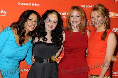 "Constance Zimmer, Lea Thompson, Vanessa Marano, Katie Leclerc, Katie Leclerc_ Photo - 13 September 2012 - Hollywood, California - Constance Zimmer, Vanessa Marano, Katie Leclerc, Lea Thompson. ABC Family's ""Switched at Birth"" Fall Premiere held at The Redbury Hotel. Photo Credit: Byron Purvis/AdMedia"