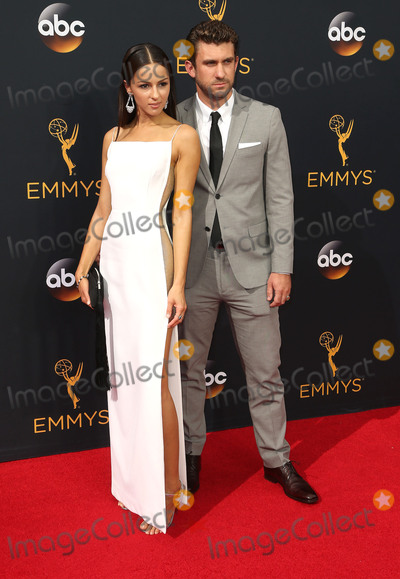 Annet Mahendru Photo - 18 September 2016 - Los Angeles, California - Annet Mahendru, Lucian Gibson. 68th Annual Primetime Emmy Awards held at Microsoft Theater. Photo Credit: AdMedia
