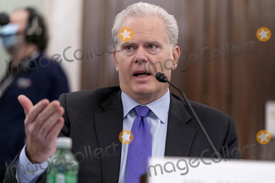 Richard Smith Photo - FedEx Express Regional President of the Americas and Executive Vice President Richard Smith speaks at a Senate Transportation subcommittee hybrid hearing on transporting a coronavirus vaccine on Capitol Hill, Thursday, Dec. 10, 2020, in Washington. 