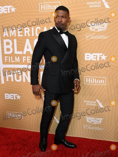 Jamie Foxx Photo - 23 February 2020 - Beverly Hills, California - Jamie Foxx. American Black Film Festival Honors Awards Ceremony held at the Beverly Hilton Hotel. Photo Credit: Birdie Thompson/AdMedia
