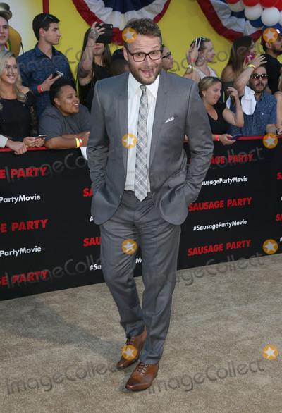 "Seth Rogen Photo - 09 August 2016 - Westwood, California - Seth Rogen. ""Sausage Party"" Los Angeles Premiere held at Regency Village Theatre. Photo Credit: Sammi/AdMedia"