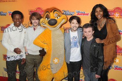 "Rush, Walt Disney, Atticus Shaffer, Max Charles, Joshua Rush, Diamond White, Dusan Brown Photo - 14 November 2015 - Burbank, California - Dusan Browns, Max Charles, Joshua Rush, Atticus Shaffer, Diamond White. ""The Lion Guard: Return Of The Roar"" Los Angeles Premiere held at Walt Disney Studios. Photo Credit: Byron Purvis/AdMedia"