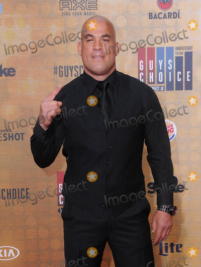 "Tito Ortiz, Amber Miller Photo - 04 June 2016 - Culver City, California - Amber Miller, Tito Ortiz. Arrivals for Spike's ""Guy's Choice"" held at Sony Pictures Studios. Photo Credit: Birdie Thompson/AdMedia"