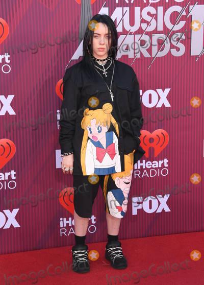 Billie Eilish Photo - 14 March 2019 - Los Angeles, California - Billie Eilish. 2019 iHeart Radio Music Awards - Arrivals held at Microsoft Theater. Photo Credit: Birdie Thompson/AdMedia