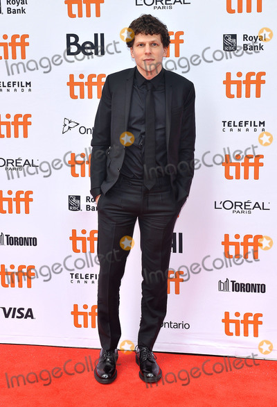 "Jesse Eisenberg, Princess of Wales, Wale Photo - 08 September 2018 - Toronto, Ontario, Canada - Jesse Eisenberg. ""The Hummingbird Project"" Premiere - 2018 Toronto International Film Festival held at the Princess of Wales Theatre. Photo Credit: Brent Perniac/AdMedia"