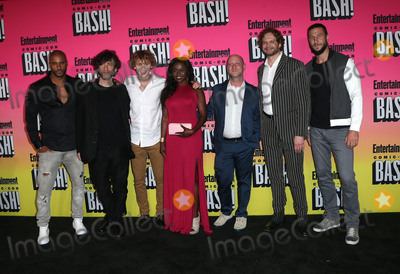 Bryan Fuller, Michael Green, Michael Greene, Neil Gaiman, Pablo Schreiber, Ricky Whittle, Yetide Badaki, Bruce Langley, Michael Bublé, Michael Paré Photo - 23 July 2016 - San Diego, California - Ricky Whittle, NeilGaiman, Bruce Langley, Yetide Badaki, Michael Green, Bryan Fuller, and Pablo Schreiber. Entertainment Weekly Hosts 2016 Annual Comic-Con Party held at the Float at Hard Rock Hotel. Photo Credit: AdMedia