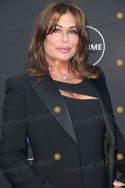 "Kelly LeBrock, Andrea Schroder, Kelly Le BROCK Photo - 16 August 2017 - Los Angeles, California - Kelly LeBrock. Lifetime's New Docuseries ""Growing Up Supermodel"" Exclusive LIVE Viewing Party Hosted By Andrea Schroder. Photo Credit: F. Sadou/AdMedia"