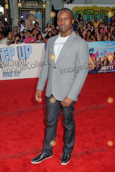 "Amadou Ly, Grauman's Chinese Theatre Photo - 17 July 2012 - Hollywood, California - Amadou Ly. ""Step Up Revolution"" Los Angeles Premiere held at Grauman's Chinese Theatre. Photo Credit: Byron Purvis/AdMedia"