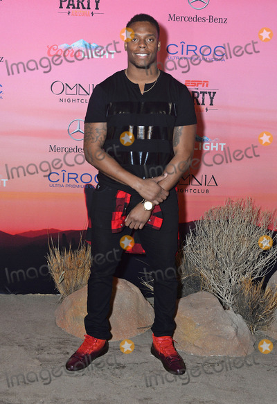 Brandon Marshall Photo - 30 January 2015 - Scottsdale, Arizona - Brandon Marshall. ESPN The Party held at WestWorld of Scottsdale. Photo Credit: Keith Sparbanie/AdMedia