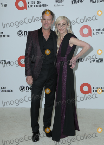 Ann Heche, Anne Heche, Elton John, Thomas Jane Photo - 09 February 2020 - West Hollywood, California - Thomas Jane, Anne Heche. 28th Annual Elton John Academy Awards Viewing Party held at West Hollywood Park. Photo Credit: PMA/AdMedia