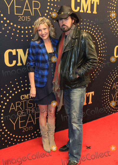 """Billy Ray, Billy Ray Cyrus, Sunny Mabrey, King Sunny Adé Photo - 02 December 2015 - Nashville, Tennessee - Billy Ray Cyrus and Sunny Mabrey. 2015 """"CMT Artists of the Year"""" held at Schermerhorn Symphony Center. Photo Credit: Bev Moser/AdMedia"""