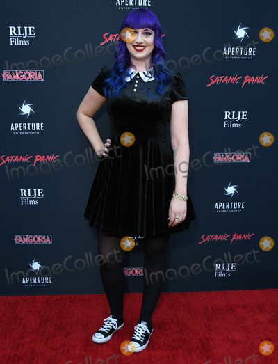 "Chelsea Stardust Photo - 23 August 2019 - Hollywood, California - Chelsea Stardust. ""Satanic Panic"" Los Angeles Premiere held at The Egyptian Theatre. Photo Credit: Birdie Thompson/AdMedia"