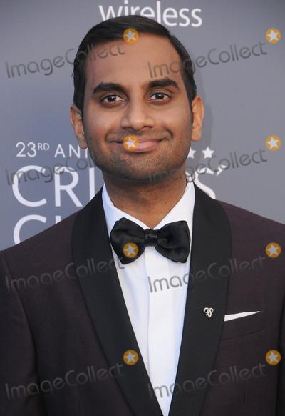Aziz Ansari Photo - 11 January 2018 - Santa Monica, California - Aziz Ansari. 23rd Annual Critics' Choice Awards held at Barker Hangar. Photo Credit: Birdie Thompson/AdMedia