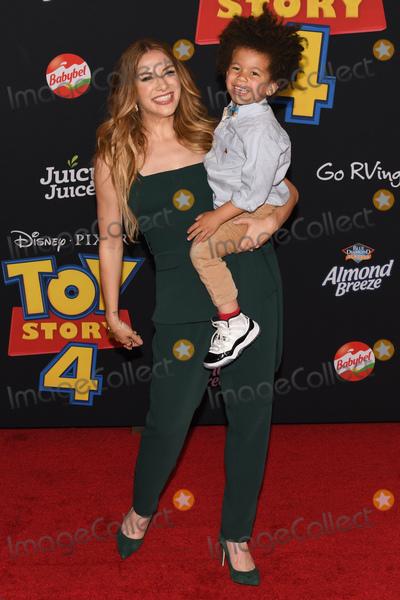 "Allison Holker Photo - 12 June 2019 - Hollywood, California - Allison Holker. ""Toy Story 4"" Disney and Pixar Los Angeles Premiere held at El Capitan Theatre. Photo Credit: Billy Bennight/AdMedia"