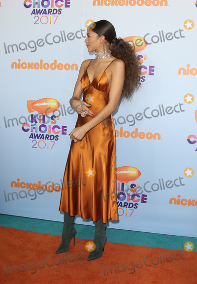 Zendaya Coleman Photo - 11 March 2017 -  Los Angeles, California - Zendaya Coleman. Nickelodeon's Kids' Choice Awards 2017 held at USC Galen Center. Photo Credit: Faye Sadou/AdMedia