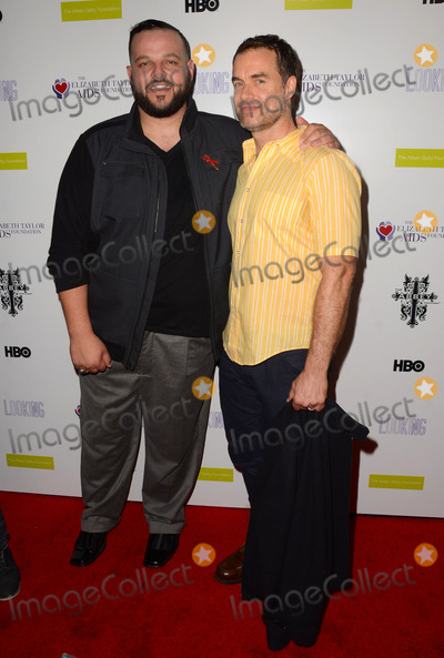 """Daniel Franzese, Murray Bartlett Photo - 19 March 2015 - West Hollywood, California - Daniel Franzese, Murray Bartlett. Arrivals for the Los Angeles screening of HBO's """"Looking"""" Season 2 Finale held at The Abbey Food & Bar. Photo Credit: Birdie Thompson/AdMedia"""