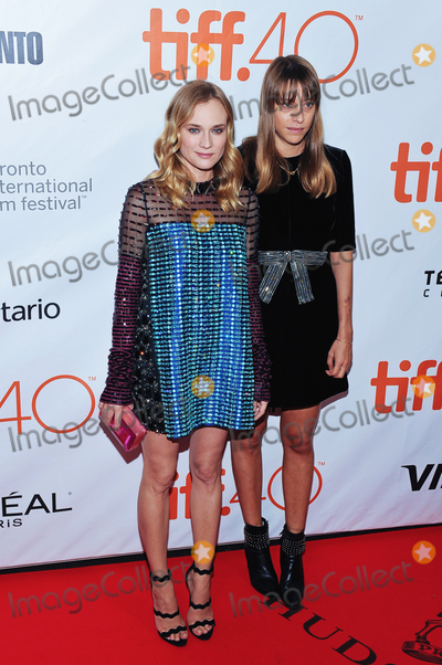 "Diane Kruger, Alice Winocour Photo - 17 September 2015 - Toronto, Ontario, Canada - Diane Kruger, Alice Winocour. ""Disorder"" Premiere during the 2015 Toronto International Film Festival held at Roy Thomson Hall. Photo Credit: Brent Perniac/AdMedia"