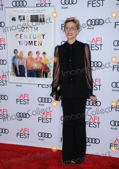 """Annette Bening, Audy Photo - 16 November 2016 - Hollywood, California. Annette Bening. AFI FEST 2016 Presented By Audi - A Tribute To Annette Bening And Gala Screening Of A24's """"20th Century Women"""" held at TCL Chinese Theater. Photo Credit: Birdie Thompson/AdMedia"""