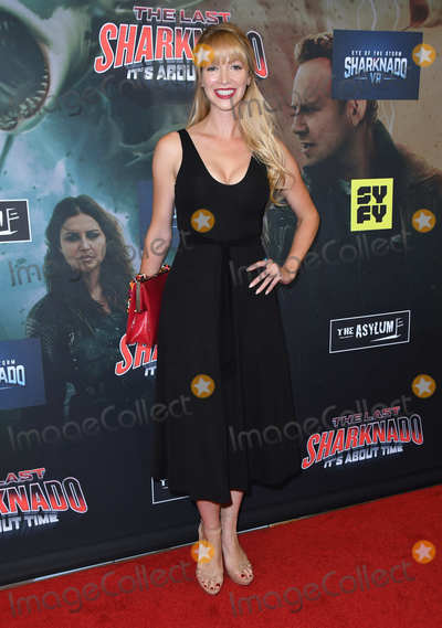 "Amanda Wagner Photo - 19 August 2018 - Playa Vista, California - Amanda Wagner.""The Last Sharknado: It's About Time"" Los Angeles Premiere held at Cinemark - Playa Vista. Photo Credit: Birdie Thompson/AdMedia"