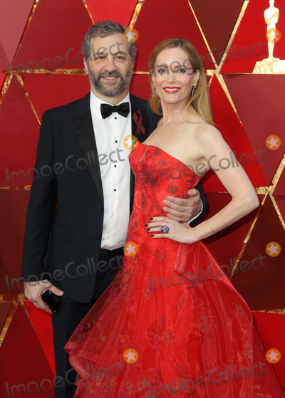 Judd Apatow, Leslie Mann, Maná Photo - 04 March 2018 - Hollywood, California - Judd Apatow, Leslie Mann. 90th Annual Academy Awards presented by the Academy of Motion Picture Arts and Sciences held at Hollywood & Highland Center. Photo Credit: AdMedia