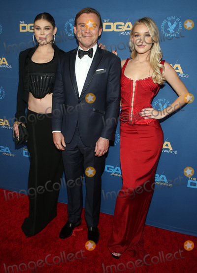 Anne Schroder, Ricky Schroder, RITZ CARLTON, Cambrie Schroder, The Ritz Photo - 25 January 2020 - Los Angeles, California - Cambrie Schroder, Ricky Schroder, and Faith Anne Schroder. 72nd Annual Directors Guild Of America Awards (DGA Awards 2020) held at the The Ritz Carlton. Photo Credit: F. Sadou/AdMedia