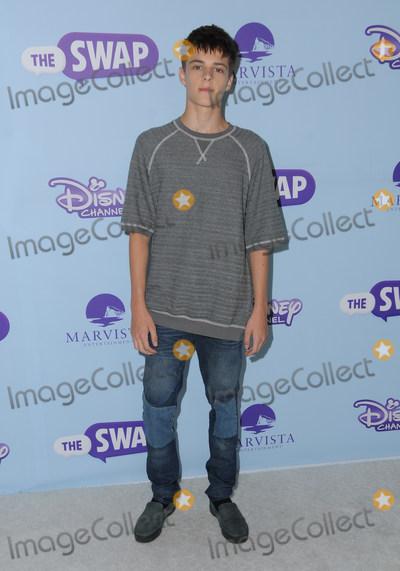 "Corey Fogelmanis Photo - 05 October 2016 - Hollywood, California. Corey Fogelmanis. Premiere Of Disney Channel's ""The Swap"" held at ArcLight Cinemas. Photo Credit: Birdie Thompson/AdMedia"
