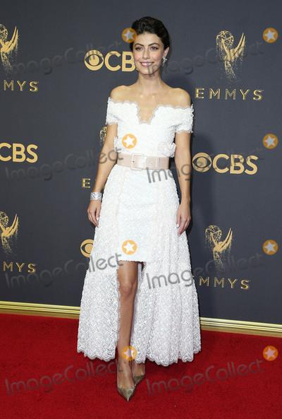 Alessandra Mastronardi Photo - 17 September 2017 - Los Angeles, California - Alessandra Mastronardi. 69th Annual Primetime Emmy Awards held at Microsoft Theater. Photo Credit: F. Sadou/AdMedia