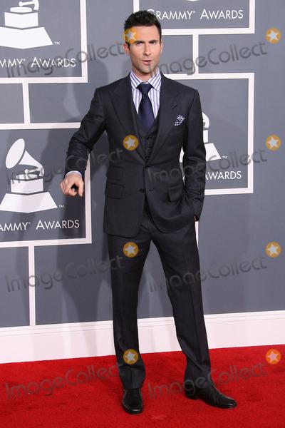Adam Levine, Grammy Awards Photo - 12 February 2012 - Los Angeles, California - Adam Levine. The 54th Annual GRAMMY Awards held at the Staples Center. Photo Credit: AdMedia