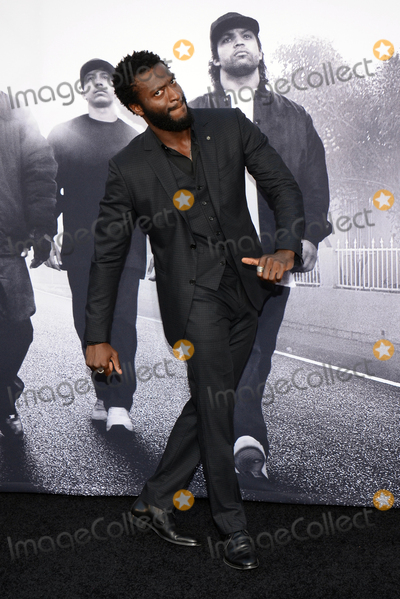 """Aldis Hodge, Aldis Hodges Photo - 10 August 2015 - Los Angeles, California - Aldis Hodge. Premiere Of Universal Pictures And Legendary Pictures' """"Straight Outta Compton"""" held at Microsoft Theater. Photo Credit: Tonya Wise/AdMedia"""