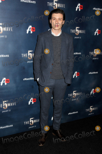 """Nick Robinson Photo - 14 January 2016 - Los Angeles, California - Nick Robinson. """"The 5th Wave"""" Los Angeles Premiere held at Pacific Theatres At The Grove. Photo Credit: Byron Purvis/AdMedia"""