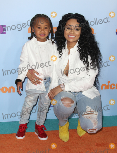 Blac Chyna Photo - 11 March 2017 -  Los Angeles, California - Blac Chyna, Dream Renee Kardashian. Nickelodeon's Kids' Choice Awards 2017 held at USC Galen Center. Photo Credit: Faye Sadou/AdMedia