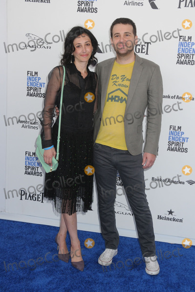 Annie Mitchell Photo - 27 February 2016 - Santa Monica, California - Annie Mitchell, David Robert Mitchell. 31st Annual Film Independent Spirit Awards - Arrivals held at the Santa Monica Pier. Photo Credit: Byron Purvis/AdMedia