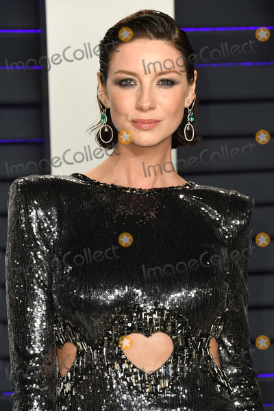Caitriona Balfe, Caitriona, Wallis Annenberg Photo - 24 February 2019 - Los Angeles, California - Caitriona Balfe. 2019 Vanity Fair Oscar Party following the 91st Academy Awards held at the Wallis Annenberg Center for the Performing Arts. Photo Credit: Birdie Thompson/AdMedia
