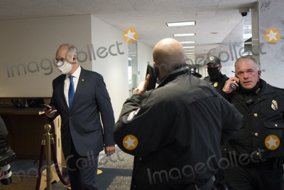 The Unit, The Used, Bob Casey Photo - United States Senator Bob Casey, Jr. (Democrat of Pennsylvania) and other Senators evacuate to a safe place in the Dirksen Senate Office Building after Electoral votes being counted during a joint session of the United States Congress to certify the results of the 2020 presidential election in the US House of Representatives Chamber in the US Capitol in Washington, DC on Wednesday, January 6, 2021, as interrupted as thousands of pr-Trump protestors stormed the U.S. Capitol and the House chambers.  .