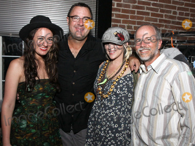 Vince Gill, Bekka Bramlett, Alyssa Bonagura, Buddy Greene, Pete Huttlinger Photo - July 26, 2011 - Nashville, TN - Alyssa Bonagura, Vince Gill, Bekka Bramlett and Buddy Greene. Artists, musicians and songwriters came together at Mercy Lounge to help raise funds for Pete Huttlinger, a widely respected guitarist and Nashville studio artist.  Huttlinger has a congenital heart disease and is in need of a heart transplant. Photo credit: Dan Harr/Admedia