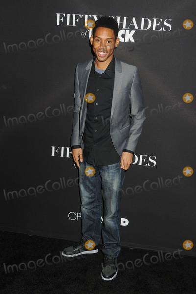 "Alphonso Mcauley Photo - 26 January 2016 - Los Angeles, California - Alphonso McAuley. ""Fifty Shades of Black"" Los Angeles Premiere held at Regal Cinemas LA Live. Photo Credit: Byron Purvis/AdMedia"