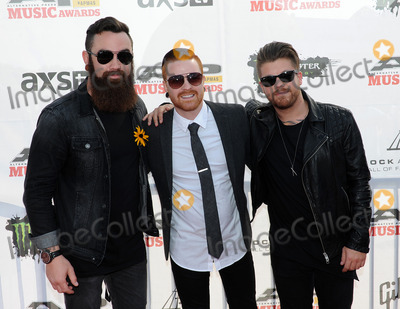 Memphis Mayfire, THE ROCK Photo - 21 July 2014 - Cleveland, OH - Members of the band MEMPHIS MAYFIRE attend the 1st Annual 2014 Gibson Brands AP Music Awards at the Rock and Roll Hall of Fame and Museum   Photo Credit: Jason L Nelson/AdMedia
