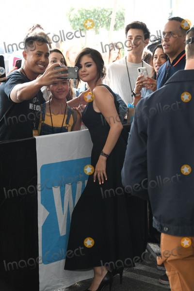 Selena Gomez, Gomez Photo - 25 April 2019 - Los Angeles, California - Selena Gomez. WE Day California 2019 held at The Forum. Photo Credit: Birdie Thompson/AdMedia