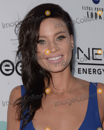 Amber Borzotra Photo - 04 September  2015 - Beverly Hills, California - Amber Borzotra. Arrivals for First Slice's World's Largest Pizza Festival held at a Private Residence. Photo Credit: Birdie Thompson/AdMedia