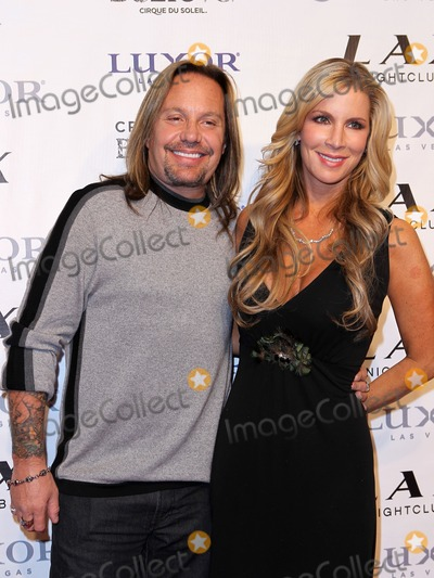 Vince Neil, Alicia Jacobs, Criss Angel Photo - 11 December 2010 - Las Vegas, Nevada - Vince Neil, Alicia Jacobs.  Criss Angel celebrates his birthday and 1000th Criss Angel BeLIEve show at LAX Nightclub inside the Luxor Resort Hotel and Casino. Photo: MJT/AdMedia
