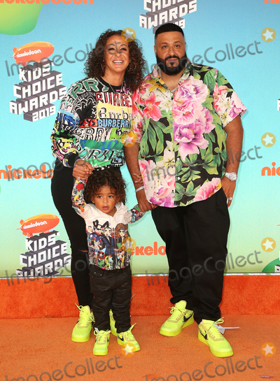 Khaled, DJ KHALED, Dj Khaleed, Nicole Tuck, Hüsker Dü Photo - 23 March 2019 - Los Angeles, California - Nicole Tuck, Asahd Tuck Khaled, DJ Khaled. 2019 Nickelodeon Kids' Choice Awards held at The USC Galen Center. Photo Credit: Faye Sadou/AdMedia