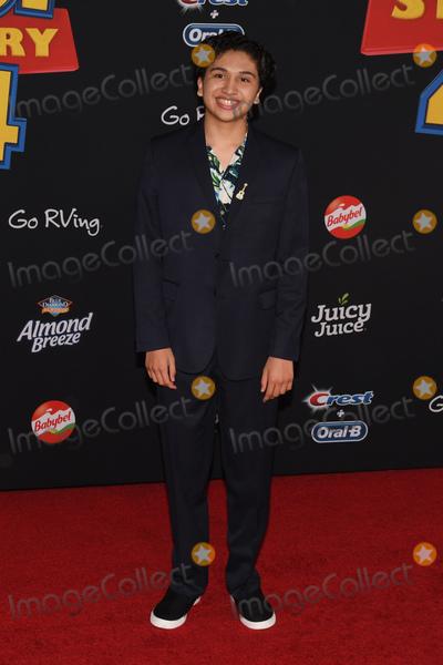 "Anthony Gonzalez Photo - 12 June 2019 - Hollywood, California - Anthony Gonzalez. ""Toy Story 4"" Disney and Pixar Los Angeles Premiere held at El Capitan Theatre. Photo Credit: Billy Bennight/AdMedia"